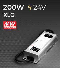 Alimentatore Meanwell XLG-200-24 24V 200W Resistente All'acqua
