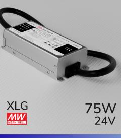 Alimentatore MeanWell XLG-75-24 24V 75W Resistente All'acqua - Tensione Regolabile