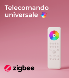 Telecomando Universale - Dimmer - CCT - RGB - Protocollo Zigbee