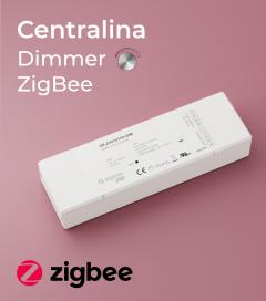 Centralina Ricevente Zigbee 4 Canali x 5A - SNR-ZG9101FA-DIM