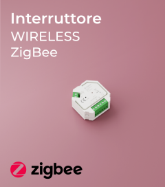 TRIAC Interruttore Wireless Zigbee