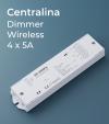 Centralina Ricevente 4 Canali x 5A - Per Telecomando e Smartphone