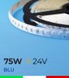 """Striscia LED 2835 """"PRO"""" - 5 Metri - 75W - SMD2835 BLU 120 LED/m"""