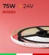 "Striscia LED 2835 ""PRO"" - 5 Metri - 75W - SMD2835 ROSSO 120 LED/m"