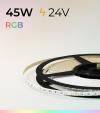 """Striscia LED RGB """"THIN"""" - 5m x 5mm - 45W - 120 LED/m SMD3535"""