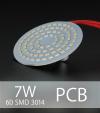 Scheda PCB 60 LED SMD 3014 - Bianco Naturale