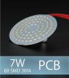 Scheda PCB 60 LED SMD 3014 - Bianco Freddo