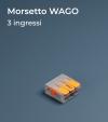 Morsetto WAGO 221-413 a tre slot - Collegamenti in parallelo