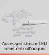 Accessori per strisce LED Resistenti all'acqua