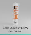 Colla ADEFIX®  New - Cartuccia 310ml - Presa Standard per Cornici