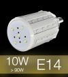 Lampadina LED CORN 10W E14 (90W) -  Bianco Caldo