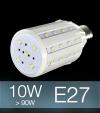 Lampadina LED CORN 10W E27 (90W) -  Bianco Freddo