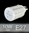 Lampadina LED CORN 10W E27 (90W) -  Bianco Naturale