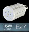 Lampadina LED CORN 16W E27 (150W) -  Bianco FREDDO