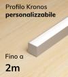 Lampada LED completa KRONOS da Soffitto o a Sospensione - Da 150cm a 200cm - Personalizzabile - Dimmerabile