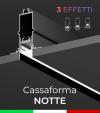 """Cassaforma da Incasso """"Notte"""" e Profilo in alluminio Ares con Clip di fissaggio"""