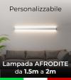 Lampada LED da parete Afrodite - Doppia Emissione di Luce - Da 150cm a 200cm - Personalizzabile - Dimmerabile