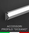 """Accessori per Profilo in Alluminio Angolare """"Oceano"""""""