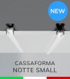 """Cassaforma da Incasso """"Notte Small"""" e Profilo in alluminio Ares con Clip di fissaggio"""