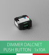 Dimmer DALCNET DLC1224-1CV - 12V/24V  versione Push Button