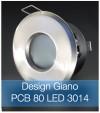Faretto completo Satinato con PCB 11W - Design GIANO - Dimmerabile - Made In Italy