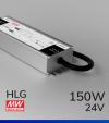 Alimentatore Meanwell HLG-150H-24 24V 150W  Resistente all'acqua - Versione Standard, A e B