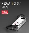 Alimentatore Meanwell HLG-40H-24 24V 40W  Resistente all'acqua - Versione Standard, A e B