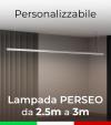Lampada LED da Sospensione Perseo - Da 250cm a 300cm - Personalizzabile - Dimmerabile