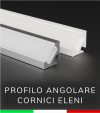 Profilo in Alluminio angolare a 45° Design Classic - per Cornice Eleni EL112