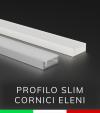 Profilo Piatto in Alluminio SLIM - per Cornici Eleni