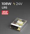 Alimentatore MeanWell LRS-100-24 24V 108W DC