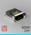 Alimentatore MeanWell LRS-50-24 24V - 50W