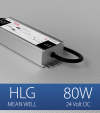 Alimentatore Meanwell HLG-80H-24 24V 80W  Resistente all'acqua - Versione Standard, A e B