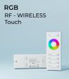 Controller RGB Touch con Telecomando + Centralina 15A