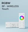 Controller RGBW Touch con Telecomando + Centralina 20A