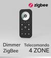 Dimmer con Telecomando - 4 Zone - Versione Zigbee - SNR-ZG2819S-DIM
