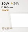 Faretto da Incasso Quadrato Slim 30W LUCE CALDA - Downlight - LED Samsung