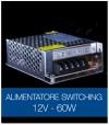 Alimentatore Switching 12V 60W DC STABILIZZATO
